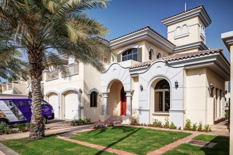 Dubai Palm Beach Villas